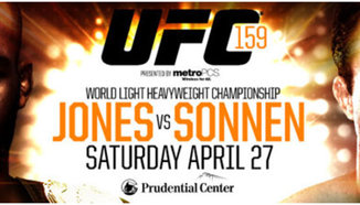 UFC 159: Jones vs. Sonnen на 27 април