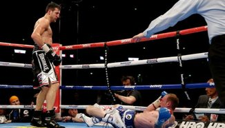 Carl Froch нокаутира Groves