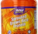 NOW - Sprouted Brown Rice Protein - 2 lbs.