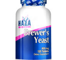 Haya Labs - Brewers Yeast 800mg. / 120 tabs.
