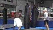 Тренировка на Kimbo Slice с Bas Rutten