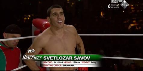 Коментар на Светлозар Савов относно спорната му загуба в KSW