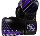 Боксови Ръкавици - Hayabusa Ikusa Charged 10oz Gloves - Black / Purple​