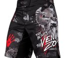 Шорти - VENUM ZOMBIE RETURN FIGHTSHORTS - BLACK​