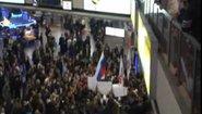 Посрещането на Fedor в Русия