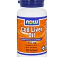 NOW - Cod Liver Oil 425mg. / 100 Softgels