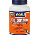 NOW - Colostrum 500mg. / 120 Caps.
