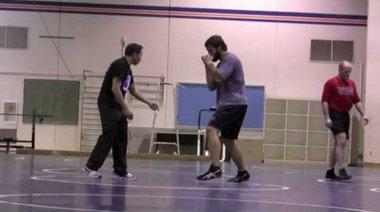 Arlovski тренира борба