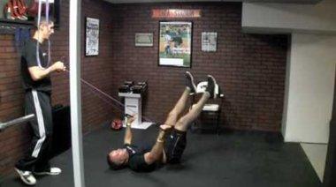 Коремно упражнение за напреднали