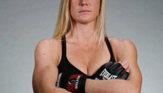Holly Holm тренира здраво