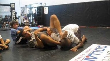 Атаки от гръб в MMA