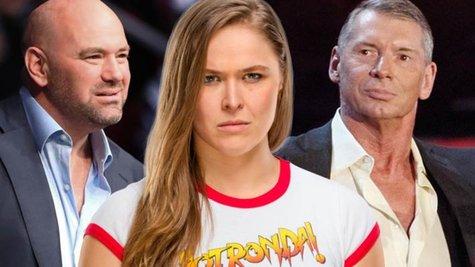 Ronda Rousey сравнява Dana White и Vince McMahon