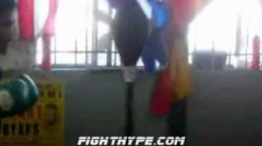 Pacquiao тренира за Margarito