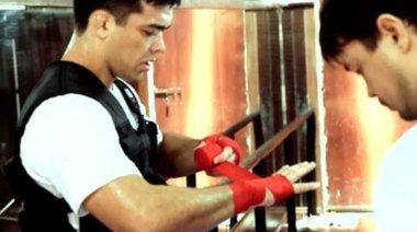 UFC 129: Lyoto Machida trains for Randy Couture