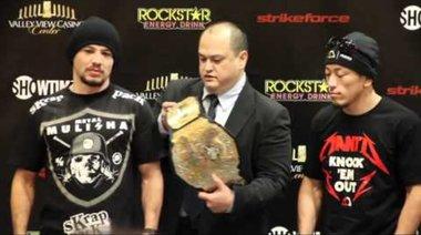 Staredown Strikeforce: Diaz vs Daley