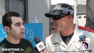 UFC Fighter Tito Ortiz Crashes at the Long Beach Grand Prix Talks Ryan Bader Fight