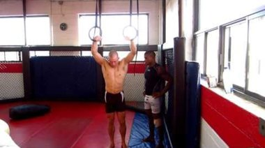 Georges St Pierre Training for UFC 129