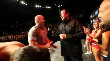 UFC 129: Couture vs Machida Weigh-In Highlight