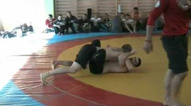 Димитър Раденков срещу Петър Влахов (финал 99 кг)