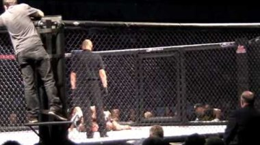 Ford Steals Win in the Third Against Parisyan Via Doctor Stoppage Due to Cut at MMA Live 1 Thursday