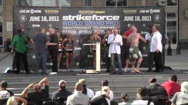 Кантар преди Strikeforce: Overeem vs Werdum
