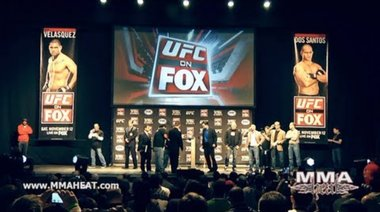 UFC on FOX: Complete Weigh Ins