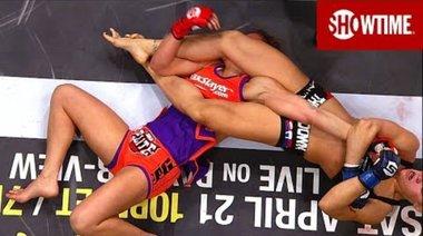 Strikeforce: Tate vs Rousey - обзор