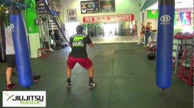 Edson Barboza - Кондиционна тренировка