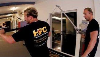 Силова тренировка на Nathan Corbett