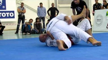 BJJ Open 2012 - Христо Христов срещу MMA Тирана