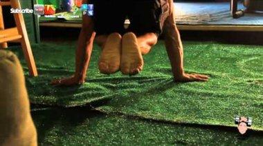 Как да Planche Инструкция обучение Tuck Planche прогресия Pushups тренировка