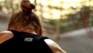 Ronda Rousey - тренировка с Leo Frincu