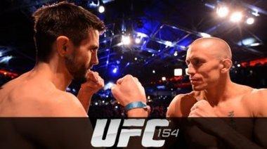 Кантар преди UFC 154