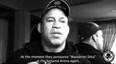 Wanderlei Silva преди UFC on Fuel TV 8