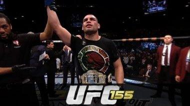 Интервю с Velasqiez и JDS след UFC 155