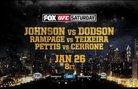 UFC on FOX 6 - реклама