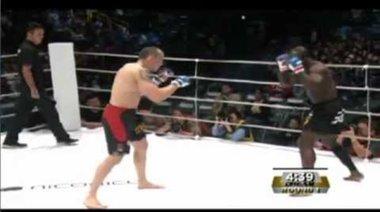 Melvin Manhoef vs Denis Kang