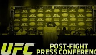 Пресконференция след UFC 158