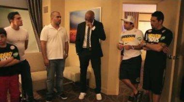 Anderson Silva минути след края на UFC 162