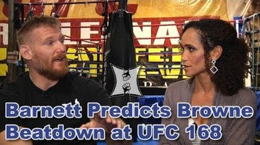 Josh Barnett преди UFC 168