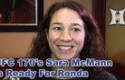 Sarah MacMann за двубоя си с Rousey