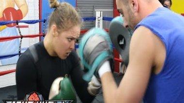 Пълна тренировка на Ronda Rousey