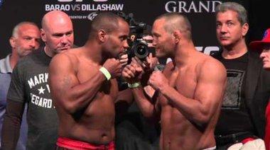 Кантар преди UFC 173