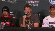 Пресконференция след UFC Fight Night 50
