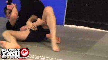 Ronda Rousey на граплинг с Nick Diaz