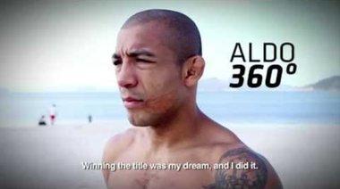 UFC 179: Jose Aldo 360