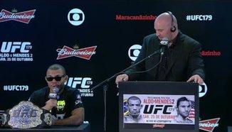 Пресконференция след UFC 179