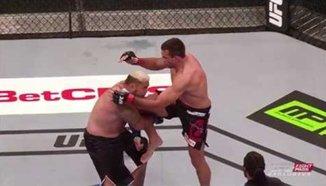 UFC 180 на забавен кадър