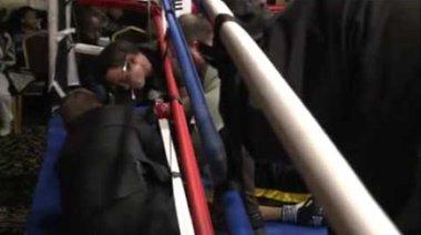 Жесток нокаут в бокса
