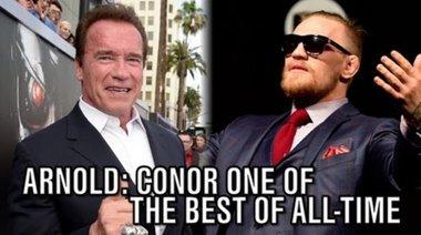 Schwarzenegger: Conor е един от най-добрите в историята